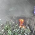 二度目の炭窯